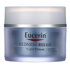 Юцерин, Redness Relief, Dermatological Skincare, Night Creme, 1.7 oz (48 g) отзывы покупателей
