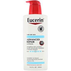 Eucerin, لوشن الإصلاح المتقدم، خالٍ من العطور، 16.9 أونصة سائلة (500 مل)
