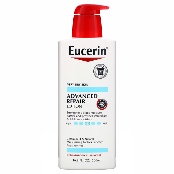Advanced Repair Lotion, Fragrance Free, 16.9 fl oz (500 ml)