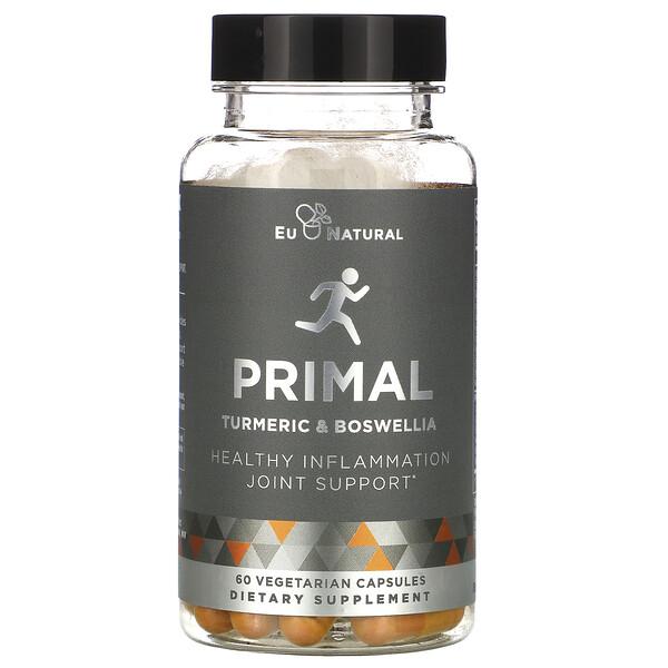 PRIMAL, Turmeric & Boswellia, 60 Vegetarian Capsules