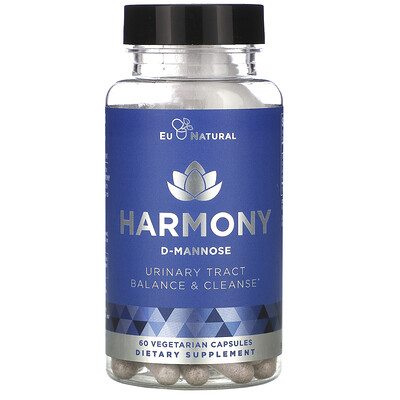 Eu Natural Harmony, Urinary Tract & Bladder Cleanse, 60 Vegetarian Capsules