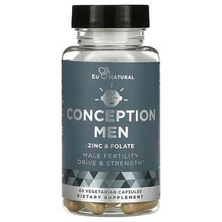 Eu Natural, Conception Men, Zinc & Folate, 60 Vegetarian Capsules