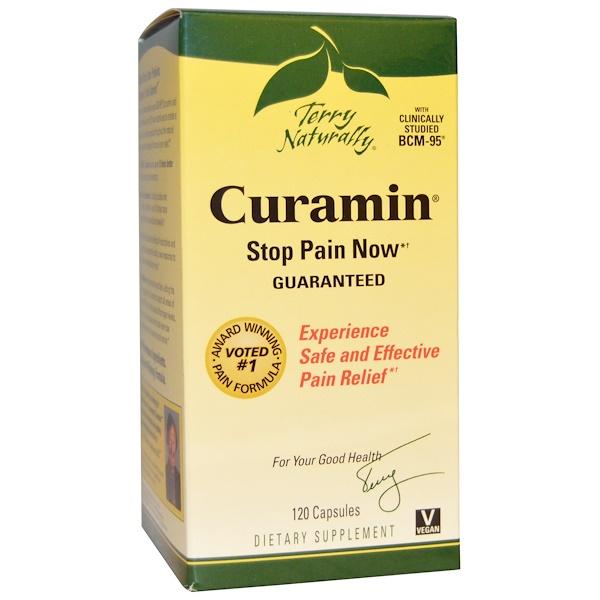 EuroPharma, Terry Naturally, Curamin, 120 Kapseln