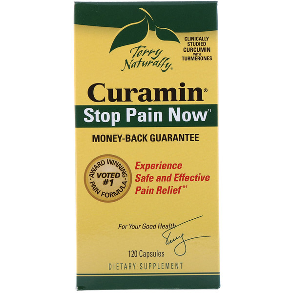 EuroPharma, Terry Naturally, Curamin, 120 капсул