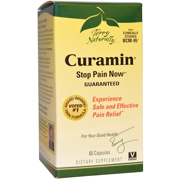 EuroPharma, Terry Naturally, Curamin, 60 Capsules (Discontinued Item)