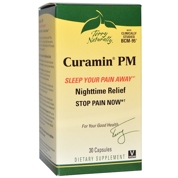 Terry Naturally, Curamin PM, 30 Capsules (Discontinued Item)