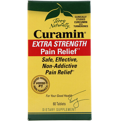 Curamin, Extra Strength Pain Relief, 60 Tablets
