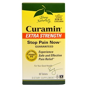 EuroPharma, Terry Naturally, Курамин, супер сила, 60 таблеток