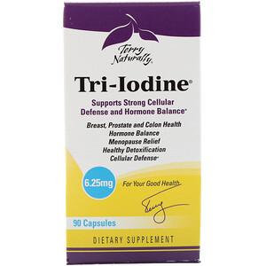 Terry Naturally, Tri-Iodine, 6.25 mg, 90 Capsules отзывы