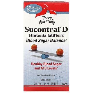 Terry Naturally, Sucontral D, 60 Capsules