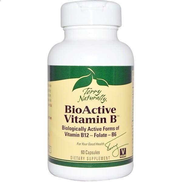Terry Naturally, BioActive Vitamin B, 60 Capsules (Discontinued Item)