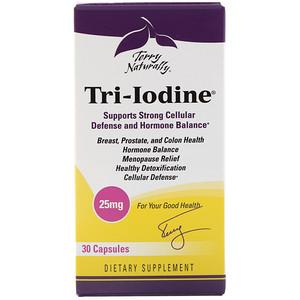Terry Naturally, Tri-Iodine, 25 mg, 30 Capsules отзывы
