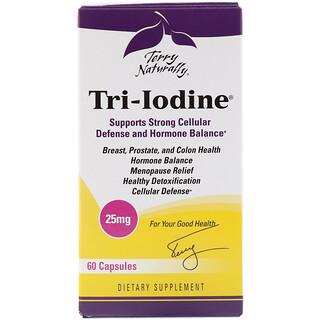 Terry Naturally, Tri-Iodin, 25 mg, 60 Kapseln