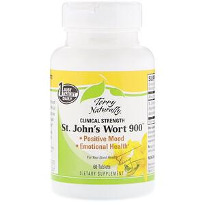 Terry Naturally, St. John's Wort 900, 60 Tablets отзывы