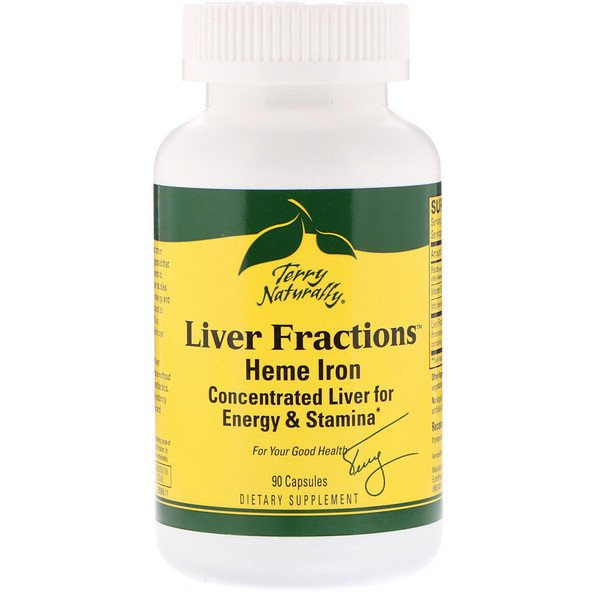 EuroPharma, Terry Naturally, Liver Fractions, 90 Capsules