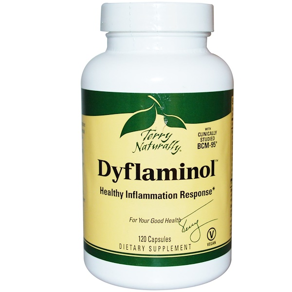 EuroPharma, Terry Naturally, Terry Naturally, Dyflaminol, 120 Capsules (Discontinued Item)