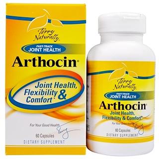EuroPharma, Terry Naturally, Arthocin, 60 Capsules