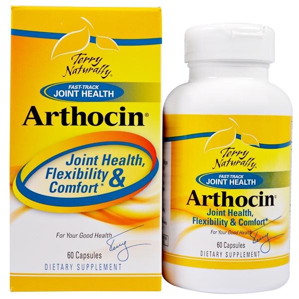 EuroPharma, Terry Naturally, Артоцин, 60 капсул