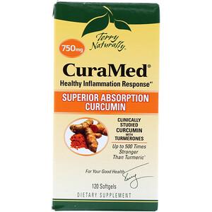 Terry Naturally, CuraMed, 750 mg, 120 Softgels отзывы покупателей
