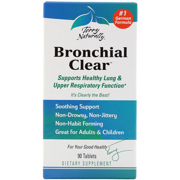 Bronchial Clear, 90 Tablets