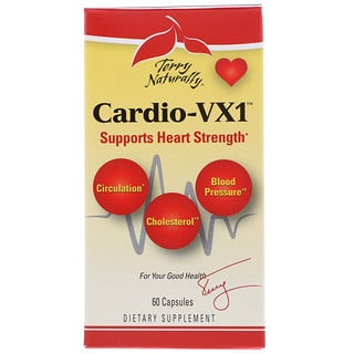 EuroPharma, Terry Naturally, Cardio VX1, 60 Capsules