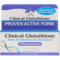 Клинический глутатион, 60 медленно растворяемых таблеток - фото