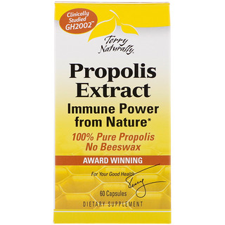 EuroPharma, Terry Naturally, Propolis Extract, 60 Capsules