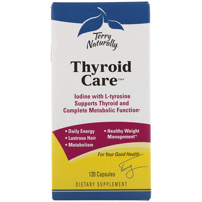 Thyroid Care, 120капсул