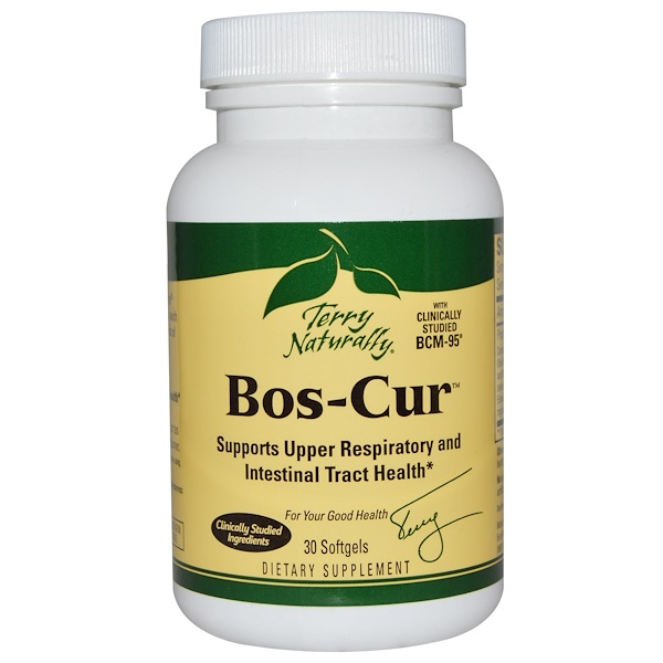 EuroPharma, Terry Naturally, Terry Naturally, Bos-Cur, 30 желатиновых капсул (Discontinued Item)