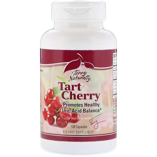 EuroPharma, Terry Naturally, Tart Cherry, 120 Capsules