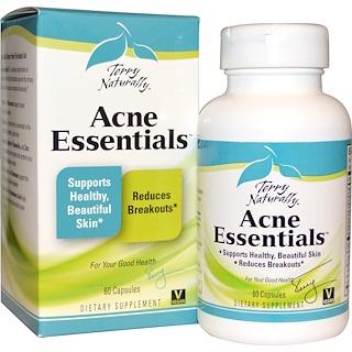 EuroPharma, Terry Naturally, Acne Essentials, 60 Capsules