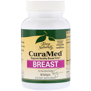 EuroPharma, Terry Naturally, CuraMed Breast, 60 Softgels