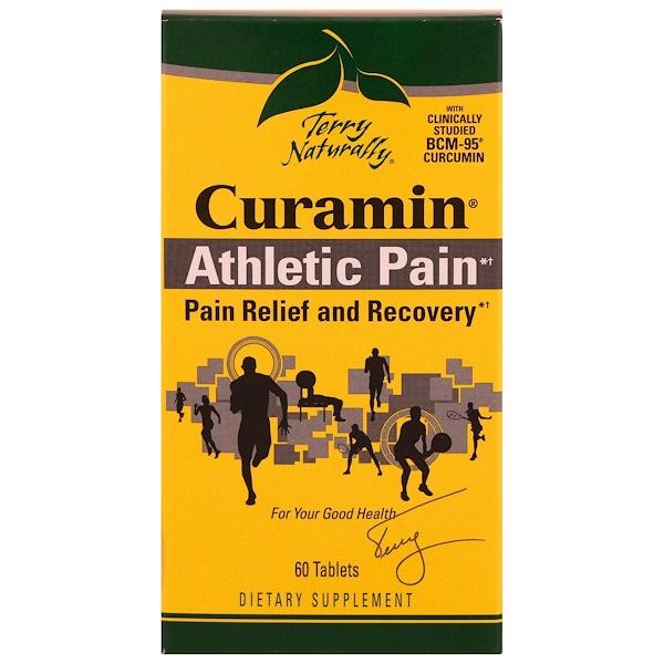 EuroPharma, Terry Naturally, Курамин, боль при занятиях спорт, 60 таблеток (Discontinued Item)