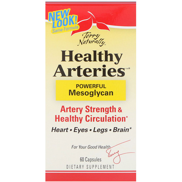 Terry Naturally, Healthy Arteries, 60 Capsules (Discontinued Item)