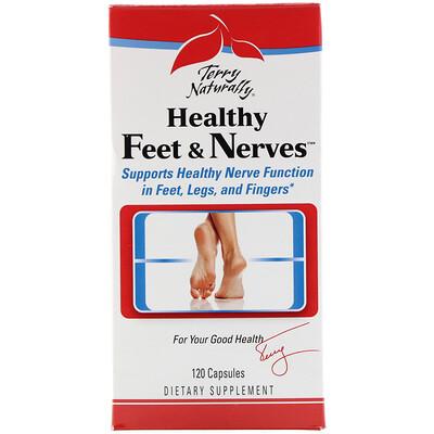 Купить Terry Naturally, Healthy Feet & Nerves, здоровые ноги и нервы, 120 капсул