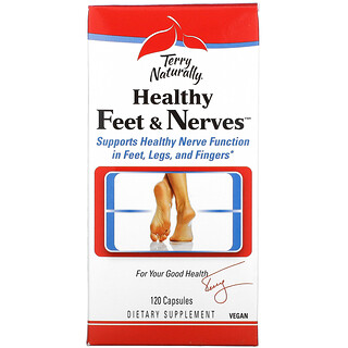 Terry Naturally, Healthy Feet & Nerves, 120 Capsules