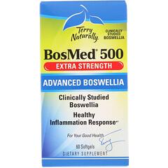 Terry Naturally, BosMed 500,特強型,高級乳香,500 毫克,60 粒軟凝膠