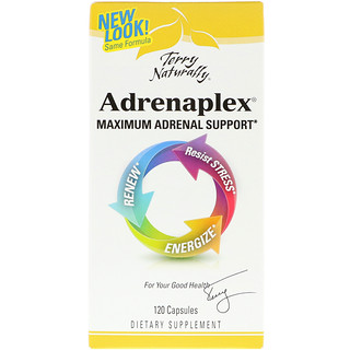 EuroPharma, Terry Naturally, Adrenaplex, 120 Capsules