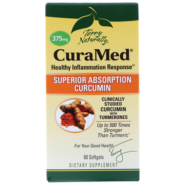 CuraMed, 375 mg, 60 Softgels