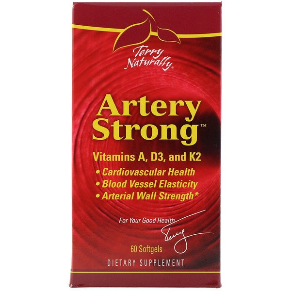 EuroPharma, Terry Naturally, Artery Strong, 60 Softgels (Discontinued Item)