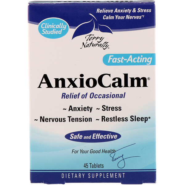 AnxioCalm, 45 Tablets