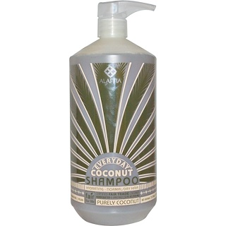 Everyday Coconut, Coconut Shampoo, Hydrating, Normal/Dry Hair, Purely Coconut, 32 fl oz (950 ml)