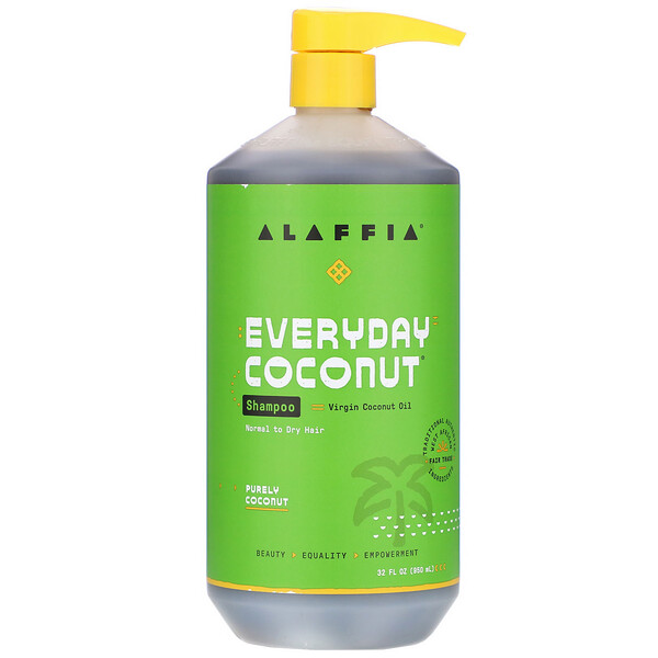 Everyday Coconut, Shampoo, Normal to Dry Hair, Purely Coconut, 32 fl oz (950 ml)