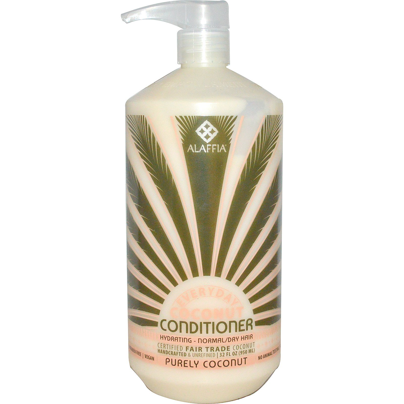 Everyday Coconut, Conditioner, Hydrating, Normal/Dry Hair, Purely Coconut, 32 fl oz (950 ml)
