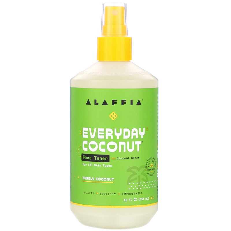 Everyday Coconut, Face Toner, Purely Coconut, 12 fl oz (354 ml)
