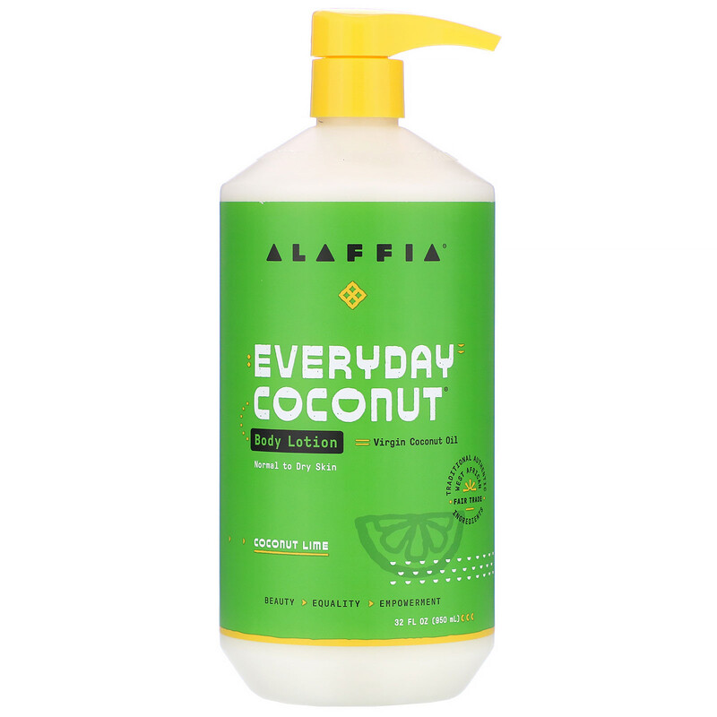 Everyday Coconut, Body Lotion, Normal to Dry Skin, Coconut Lime, 32 fl oz (950 ml)