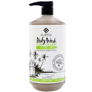 Everyday Coconut, Body Wash, Ultra Hydrating, Normal to Dry Skin, Coconut Lime, 32 fl oz (950 ml)