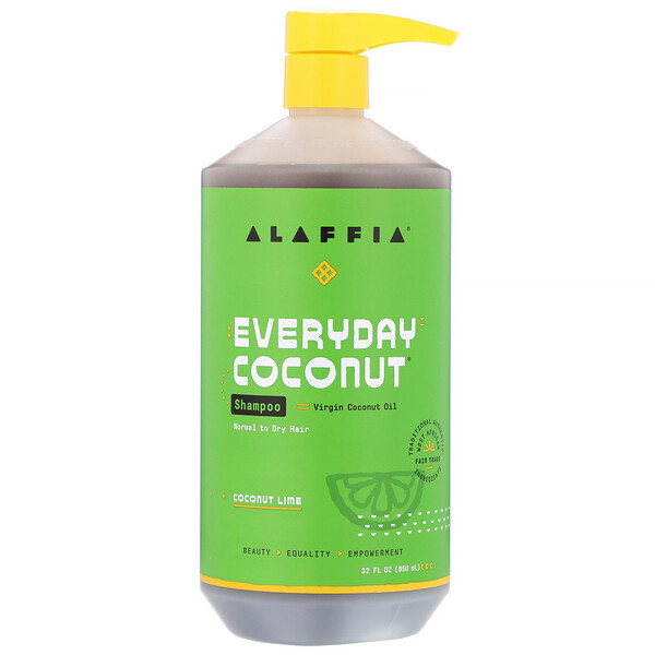 Everyday Coconut, Shampoo, Normal to Dry Hair, Coconut Lime, 32 fl oz (950 ml)
