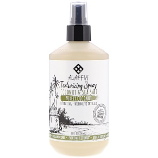 Everyday Coconut, Texturing Spray, Hydrating, Normal to Dry Hair, Coconut & Sea Salt, 12 fl oz (354 ml)