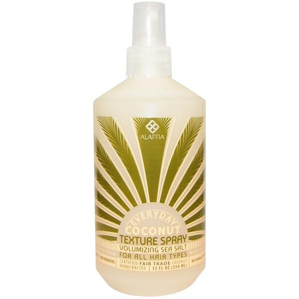 Everyday Coconut, Texture Spray, For All Hair Types, Volumizing Sea Salt, 12 fl oz (354 ml)